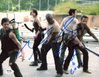 """Robert """"IronE"""" Singleton Signed """"The Walking Dead"""" 8x10 Photo Inscribed """"T-Dog"""" & """"Truth & Love"""" (PSA COA) at PristineAuction.com"""