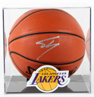 Shaquille O'Neal Signed Official NBA Game Ball Series Basketball with Lakers Display Case (PSA COA) at PristineAuction.com