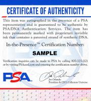 David Tyree Signed Giants Super Bowl Vinyl Sticker for Trophy (PSA COA) at PristineAuction.com