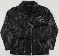 "Jeffrey Dean Morgan Signed ""The Walking Dead"" Leather Jacket Inscribed ""Negan"" (Radtke COA) at PristineAuction.com"