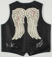 "Norman Reedus & Austin Amelio Signed ""The Walking Dead"" Vest Inscribed ""Dwight"" (Radtke Hologram) at PristineAuction.com"