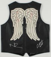 "Norman Reedus & Austin Amelio Signed ""The Walking Dead"" Vest Inscribed ""Dwight"" (Radtke COA) at PristineAuction.com"