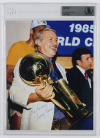 "Jerry Buss Signed 8x10 Photo Inscribed ""Go Lakers"" (Beckett Authentic) at PristineAuction.com"