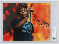"Juice WRLD Signed 8x10 Photo Incribed ""999"" (Beckett Authentic) at PristineAuction.com"