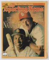 """Stan Musial & Tony Gwynn Signed 1997 """"The Sporting News"""" Magazine (JSA COA) at PristineAuction.com"""