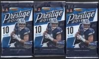 Lot of (3) 2018 Panini Prestige Football Retail Packs at PristineAuction.com