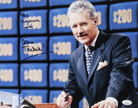"Alex Trebek Signed ""Jeopardy"" 11x14 Photo Inscribed ""The Answer Is"" (JSA COA) at PristineAuction.com"