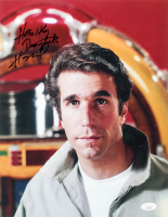 "Henry Winkler Signed ""Happy Days"" 11x14 Photo Inscribed ""Healthy Thoughts"" (JSA COA) at PristineAuction.com"