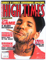 """The Game Signed 2005 """"High Times"""" Magazine (JSA COA) at PristineAuction.com"""