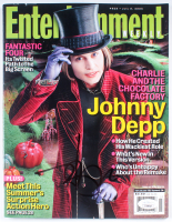 "Johnny Depp Signed 2005 ""Entertainment"" Magazine (JSA COA) at PristineAuction.com"
