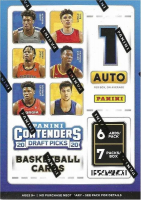 2020 Panini Contenders Draft Pick Collegiate Basketball Blaster Box With (7) Packs at PristineAuction.com