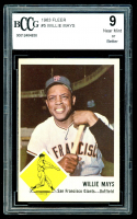 Willie Mays 1963 Fleer #5 (BCCG 9) at PristineAuction.com