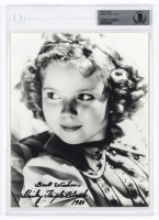 "Shirley Temple Signed 8x10 Photo Inscribed ""Best Wishes"" & ""1988"" (BGS Encapsulated) at PristineAuction.com"