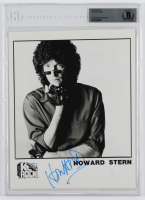 Howard Stern Signed 8x10 Photo (BGS Encapsulated) at PristineAuction.com