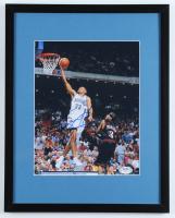 Grant Hill Signed Magic 12x15 Custom Framed Photo (PSA COA) at PristineAuction.com