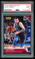 Luka Doncic 2018-19 Panini Instant #118 (PSA 9) at PristineAuction.com