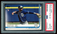 Fernando Tatis Jr. 2019 Topps #410 RC (PSA 10) at PristineAuction.com