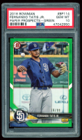 Fernando Tatis Jr. 2018 Bowman Prospects Green #BP114 (PSA 10) at PristineAuction.com