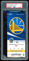 2013 Warriors vs. Heat Game Ticket (PSA 4) at PristineAuction.com