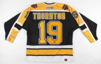 Joe Thornton Signed Bruins Captain Jersey (YSMS COA) at PristineAuction.com