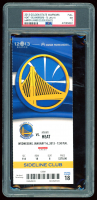 2013 Warriors vs. Heat Game Ticket (PSA 7) at PristineAuction.com