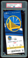 2013 Warriors vs. Heat Game Ticket (PSA 9) at PristineAuction.com
