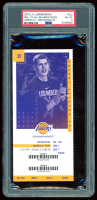 2019 Lakers vs. Nuggets Game Ticket (PSA 8) at PristineAuction.com