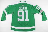 Tyler Seguin Signed Stars 2020 Winter Classic Jersey (Seguin COA) at PristineAuction.com