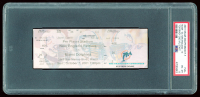 2001 Dolphins vs. Patriots Game Ticket (PSA 8) at PristineAuction.com
