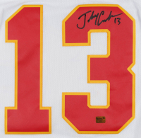 Johnny Gaudreau Signed Flames 2019 Heritage Classic Jersey (Gaudreau COA) at PristineAuction.com