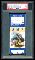1998 Michigan Wolverines Game Ticket (PSA 9) at PristineAuction.com