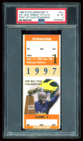 1998 Michigan Wolverines Game Ticket (PSA 6) at PristineAuction.com
