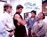 "Martin Kove Signed ""Karate Kid"" 8x10 Photo Inscribed ""Sensei"" (Pro Player Hologram) at PristineAuction.com"