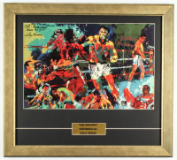 "LeRoy Neiman ""Muhammad Ali"" 19.5x21.5 Custom Framed Print Display at PristineAuction.com"