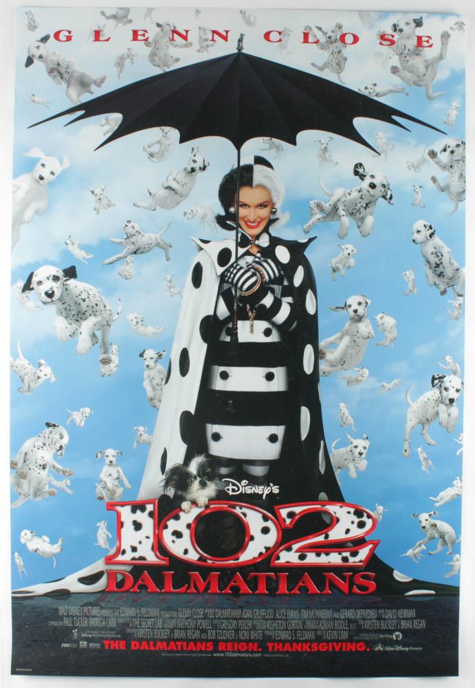 """102 Dalmatians"" 27x40 Original Movie Poster at PristineAuction.com"