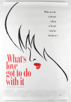 """""""What's Love Got to Do with It"""" 27x40 Movie Original Poster at PristineAuction.com"""