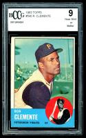 Roberto Clemente 1963 Topps #540 (BCCG 9) at PristineAuction.com