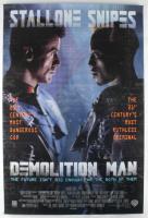 """Demolition Man"" 27x40 Movie Original Poster at PristineAuction.com"