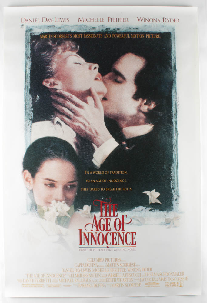 """""""The Age of Innocence"""" 27x40 Movie Original Poster at PristineAuction.com"""