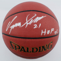 "Dominique Wilkins Signed NBA Basketball Inscribed ""HOF 06"" (Schwartz Sports COA) at PristineAuction.com"