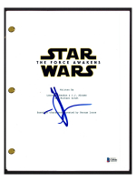 """J. J. Abrams Signed """"Star Wars: The Force Awakens"""" Movie Script (Beckett COA) at PristineAuction.com"""