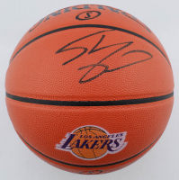 Shaquille O'Neal Signed Lakers Logo NBA Game Ball Series Basketball (Schwartz Sports COA) at PristineAuction.com
