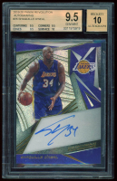 Shaquille O'Neal 2019-20 Panini Revolution Autographs #26 (BGS 9.5) at PristineAuction.com