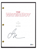 "Adam Sandler Signed ""The Waterboy"" Movie Script (Beckett COA) at PristineAuction.com"