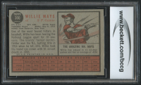Willie Mays 1962 Topps #300 (BCCG 9) at PristineAuction.com