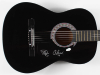Cheech Marin & Tommy Chong Signed Full-Size Acoustic Guitar (JSA COA) at PristineAuction.com