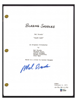 "Mel Brooks Signed ""Blazing Saddles"" Movie Script (Beckett COA) at PristineAuction.com"