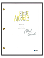 "Mel Brooks Signed ""High Anxiety"" Movie Script (Beckett COA) at PristineAuction.com"