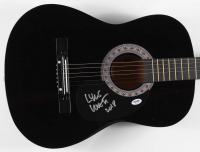 "Lyle Lovett Signed Full-Size Acoustic Guitar Inscribed ""2018"" (PSA COA) at PristineAuction.com"