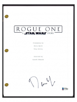 """Donnie Yen Signed """"Rogue One: A Star Wars Story"""" Movie Script (Beckett COA) at PristineAuction.com"""